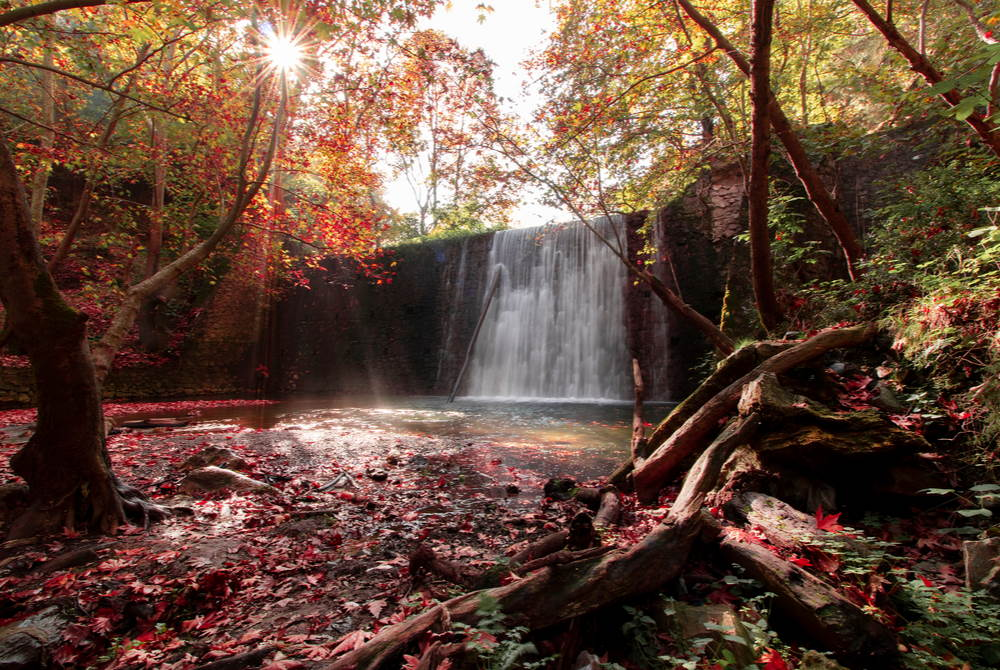 kurşunlu waterfall in Antalya in Turkey