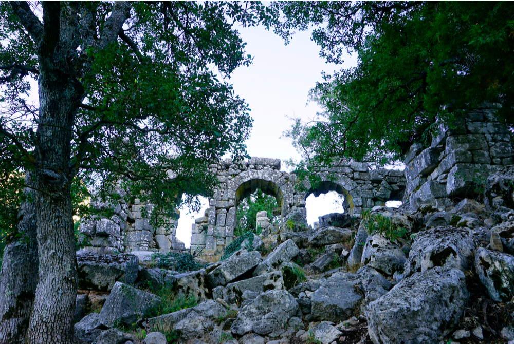 Termessos Ancient Site in Antalya in Turkey