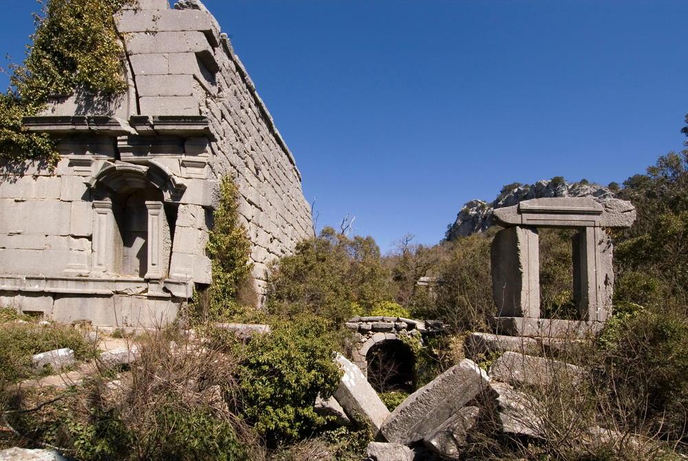 Termessos Ruins in Antalya in Turkey
