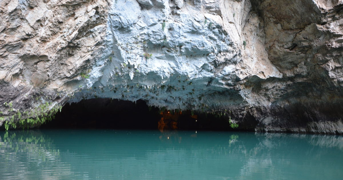 altınbesik cave in Antalya in Turkey