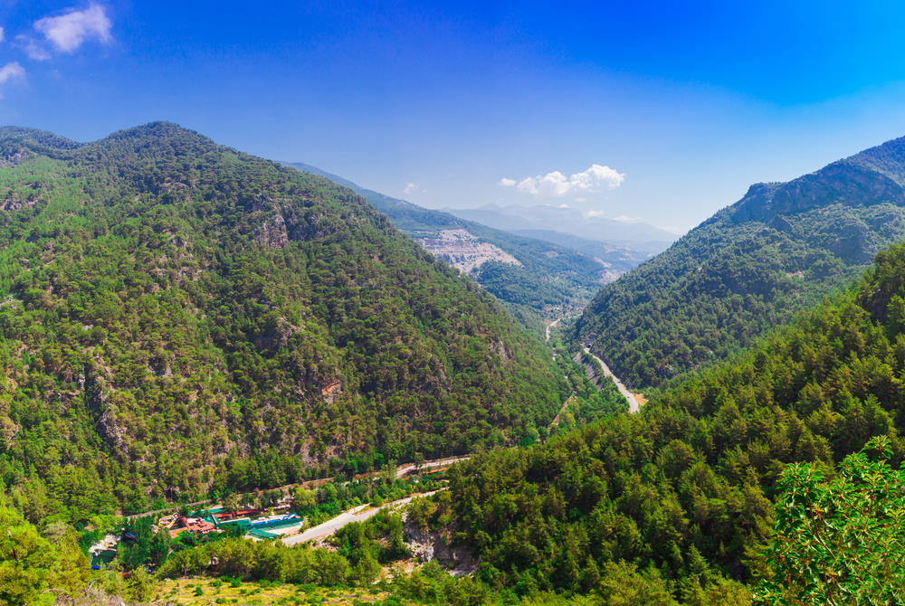 Dim River in Antalya in Turkey