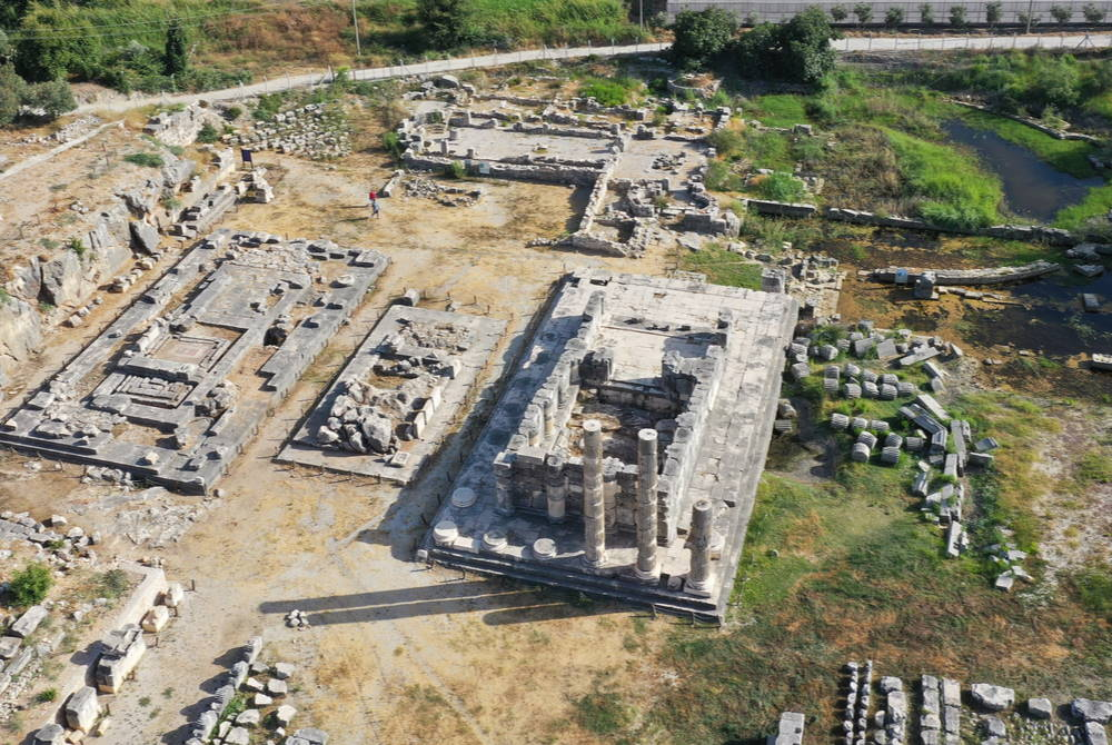 Letoon Ancient Site in Fethiye in Turkey