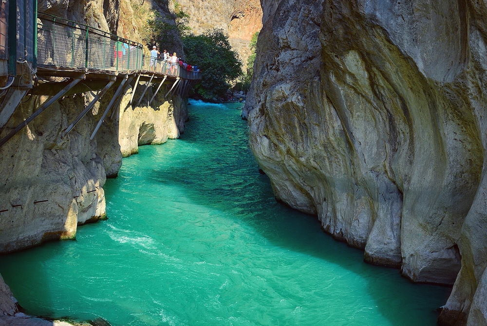 saklıkent Canyon in Antalya in Turkey