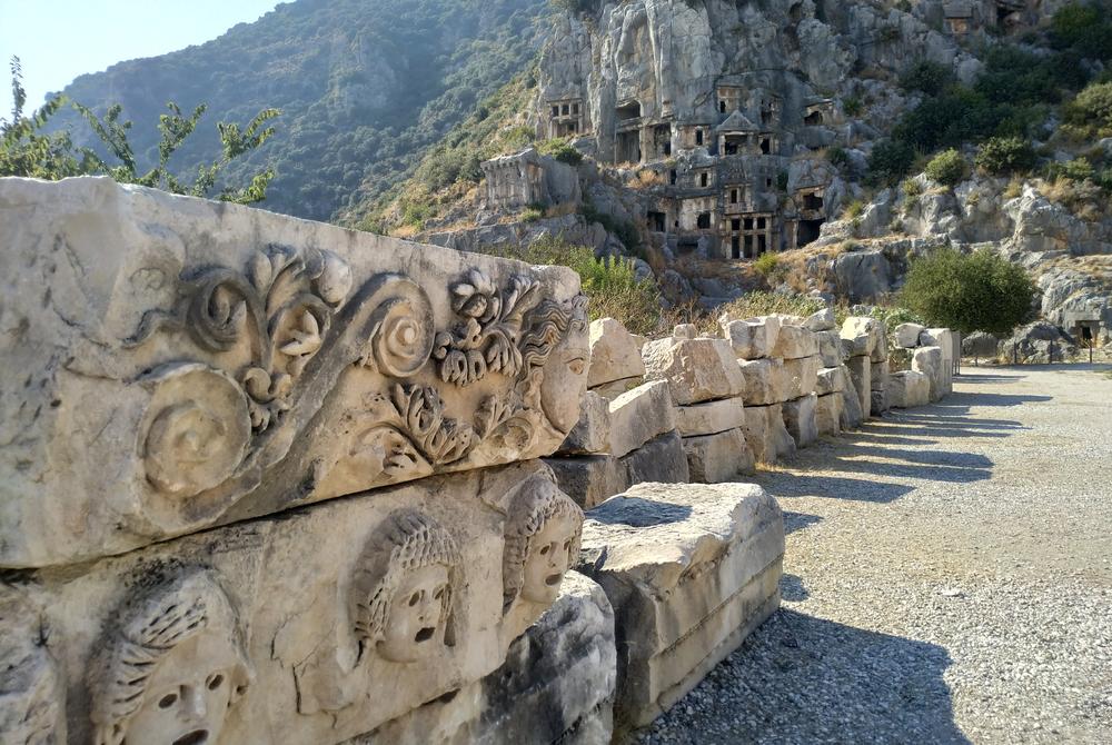 Myra Ancient City in Demre in Antalya in Turkey