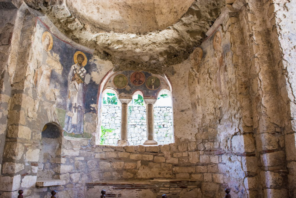 St Nicholaos Church in Demre in Antalya in Turkey