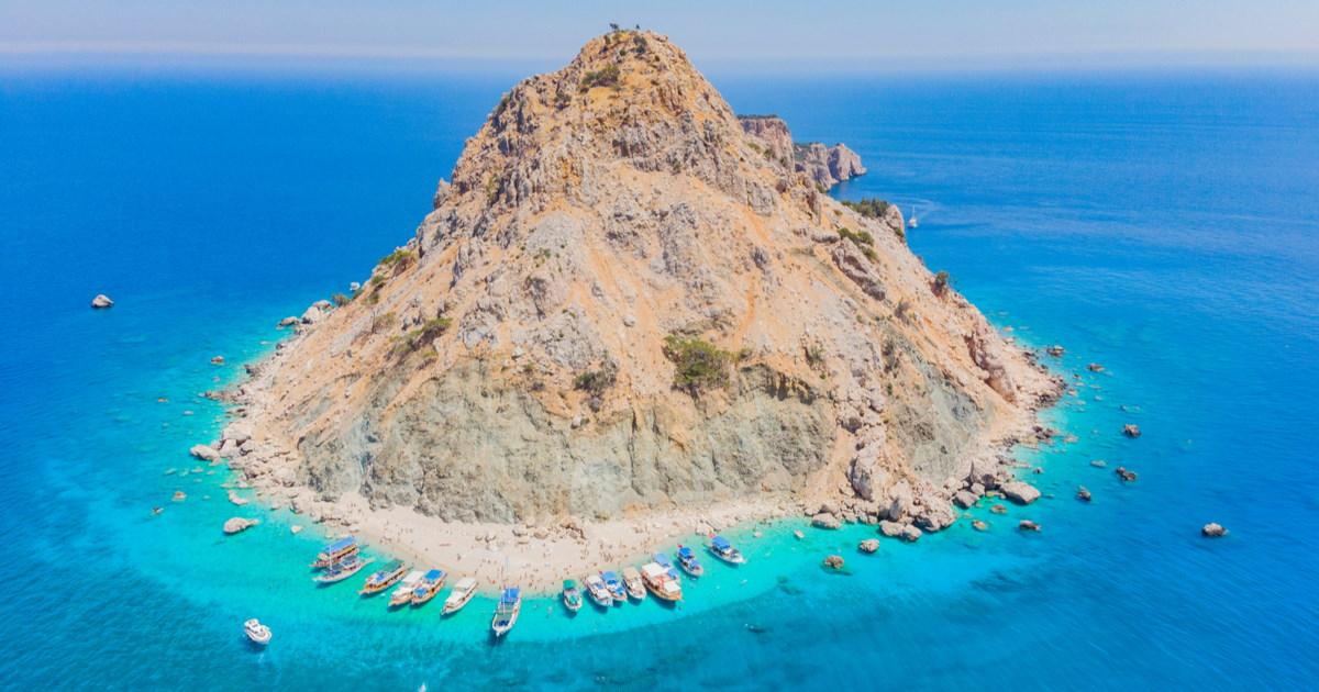 8 amazing Islands in Antalya in Turkey