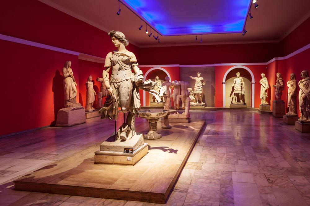 Antalya Archeological Museum in Turkey (Editorial)