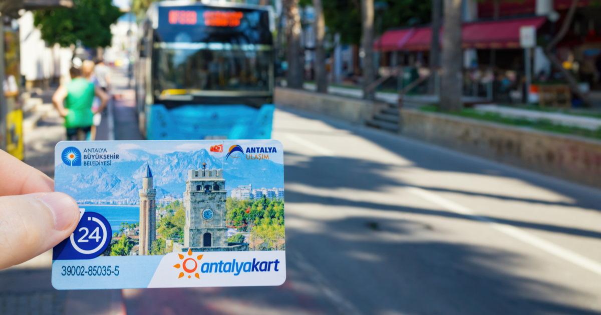 Antalya Kart in Antalya in Turkey (Editorial)