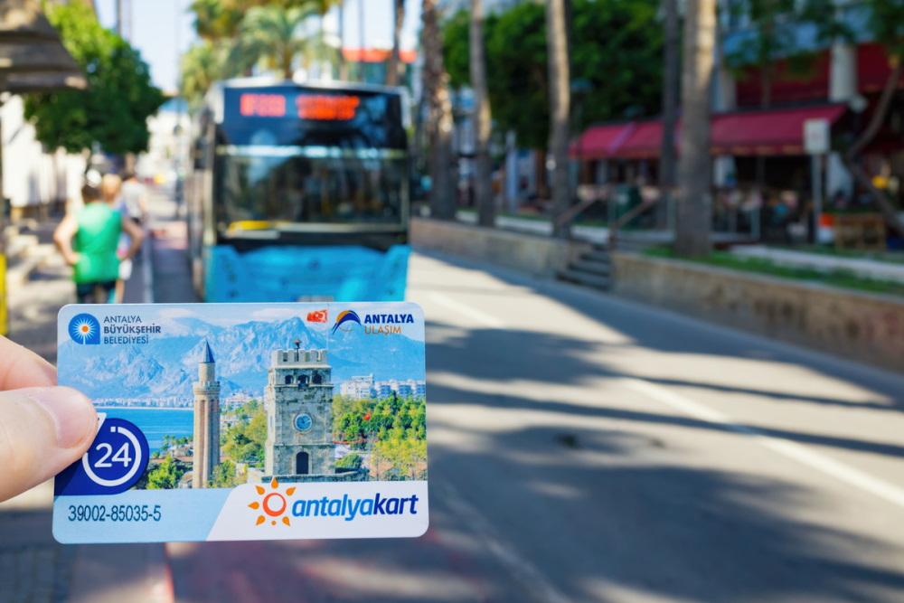 Antalyakart for Antalya Public Transportation (Editorial)