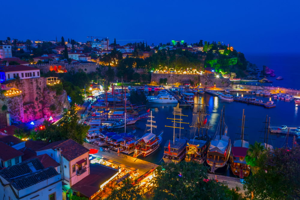 Cruise in Antalya in Turkey