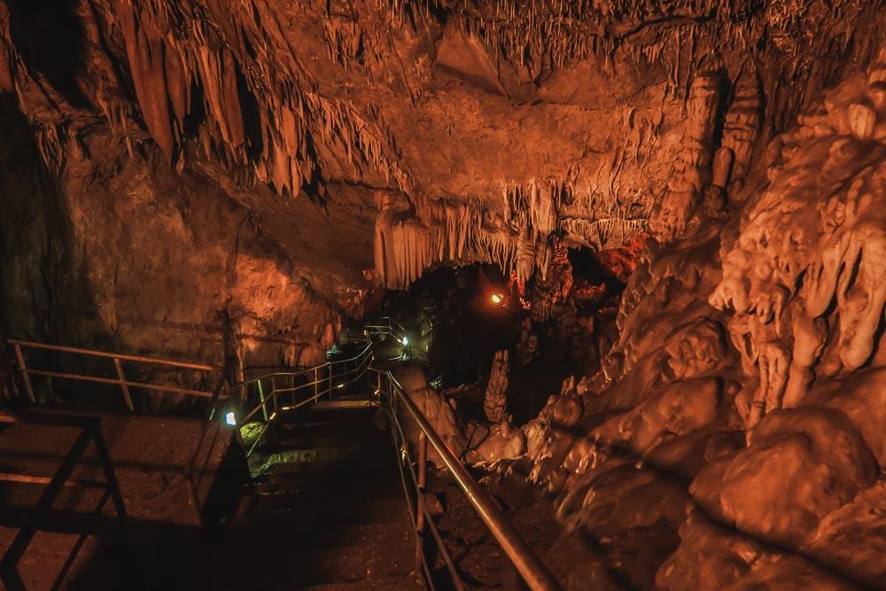Dim Cave in Alanya in Antalya in Turkey