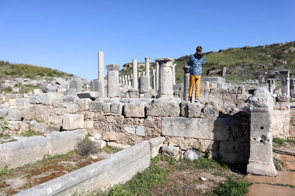 Discover Ancient Ruins in Antalya in Turkey