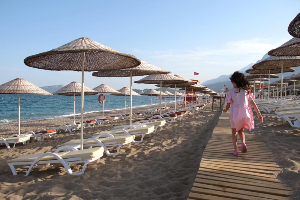 Göynük and Beldibi in Antalya in Turkey