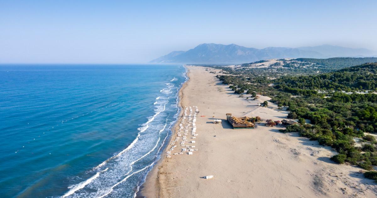 Guide to Patara Beach in Kas in Antalya in Turkey