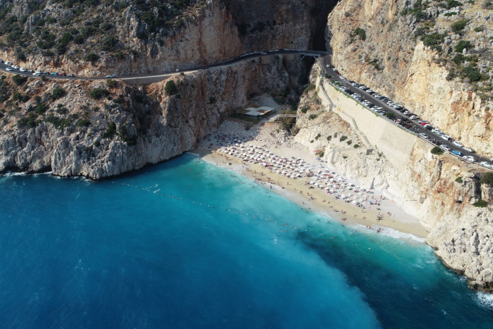 Kaputaş Beach in Antalya