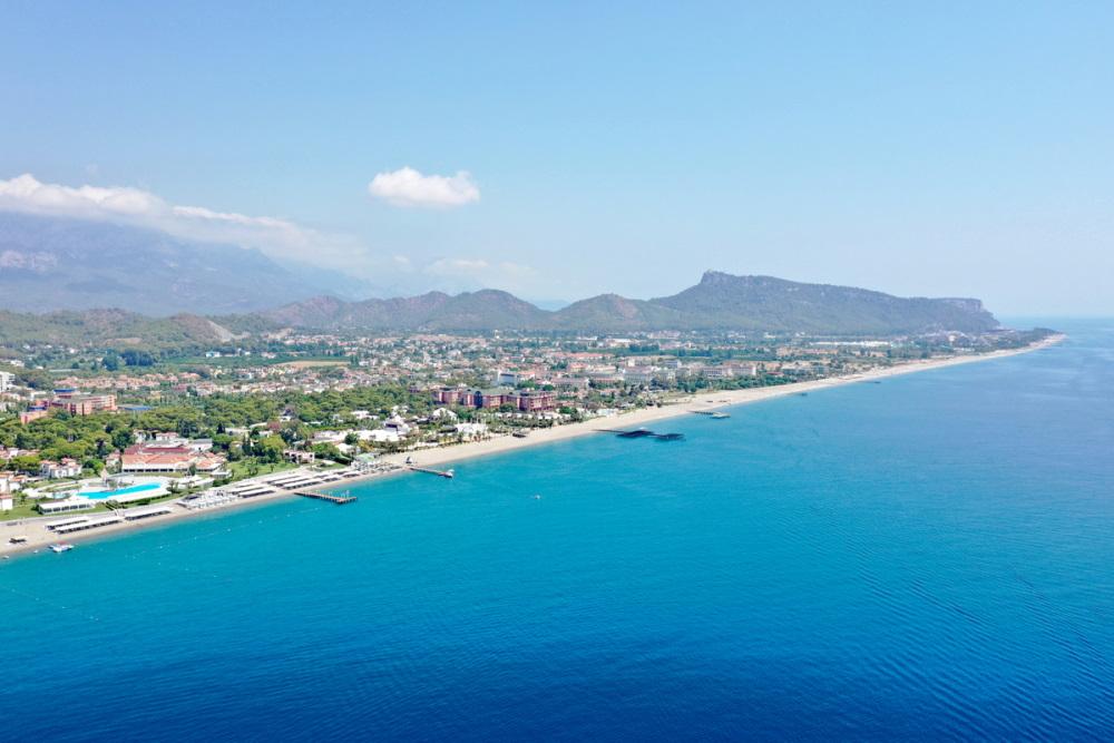Kiris and Camyuva in Antalya in Turkey