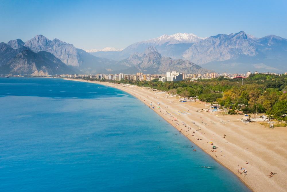 Konyaalti beach in Antalya