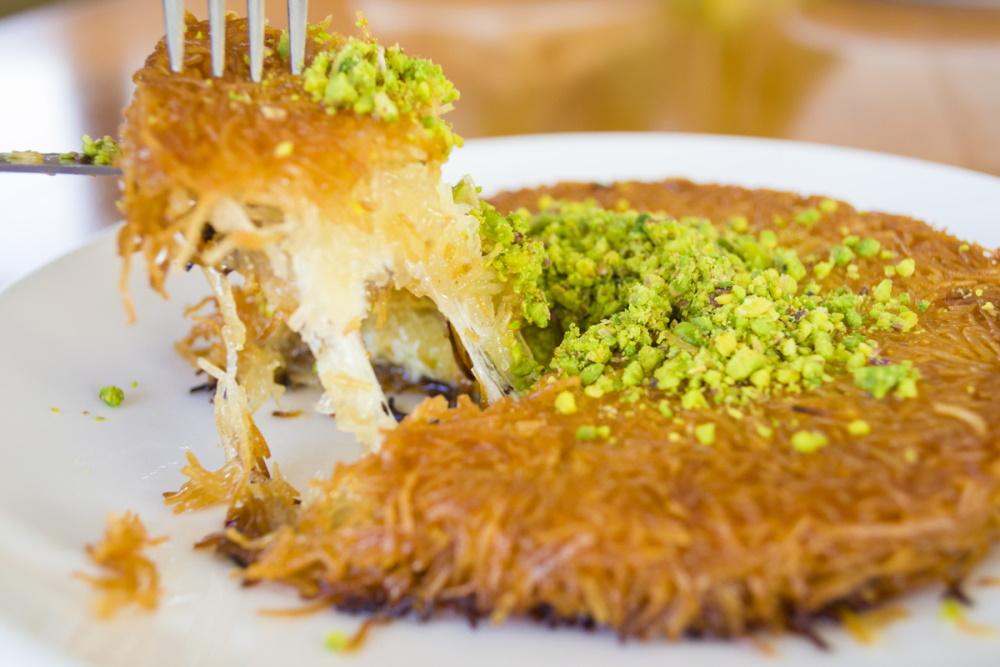 Kunefe Dessert in Turkey