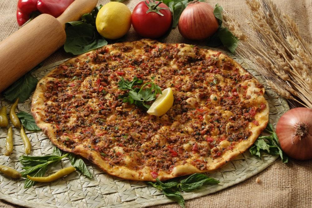 Lahmacun in Turkish Cuisine