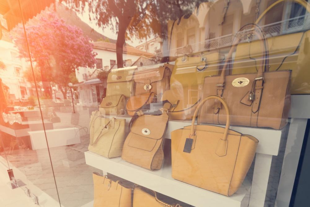 Leather handbags in Turkey (Editorial)