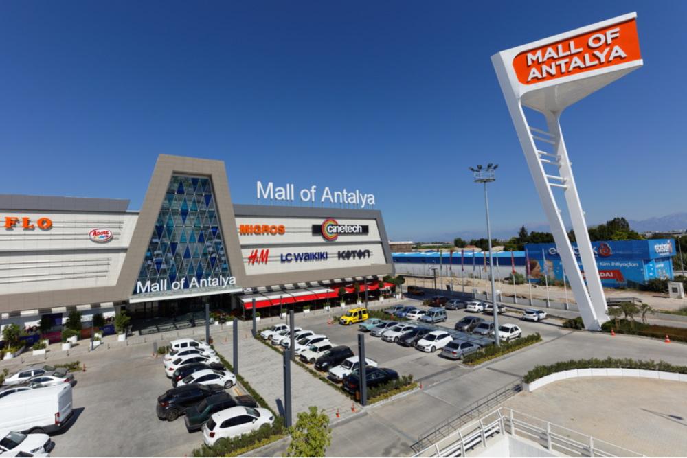 Mall of Antalya in Turkey (Editorial)
