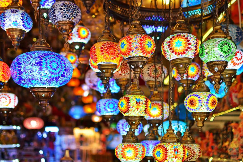 Oriental Lamps in Turkey