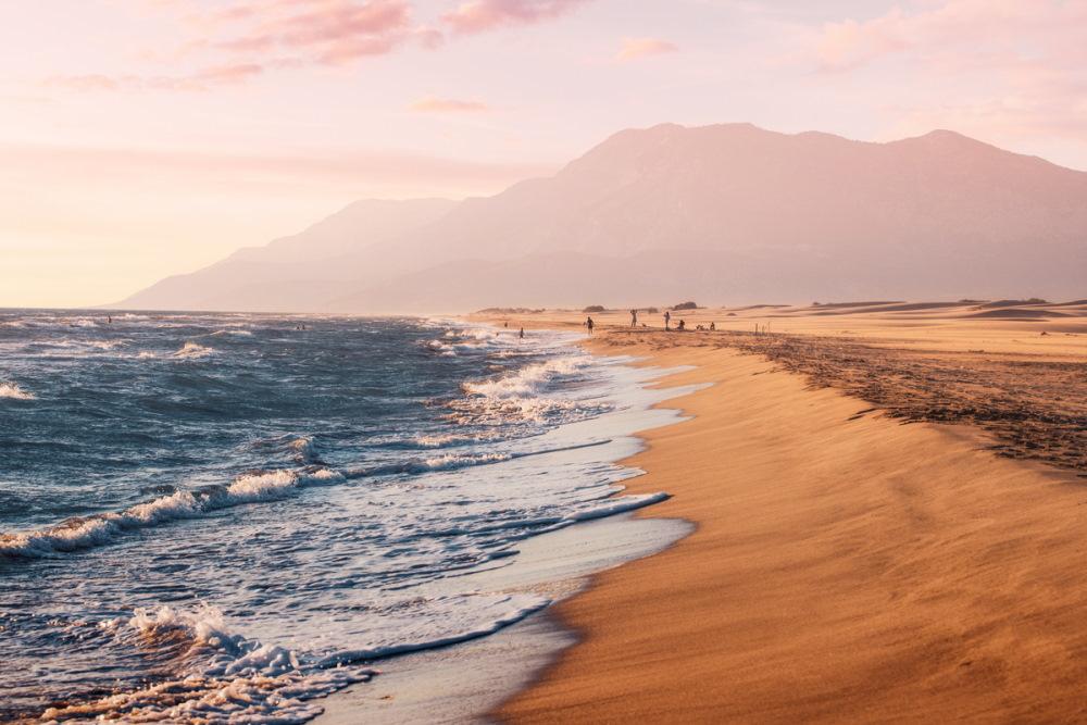 Patara Beach in Antalya in Turkey