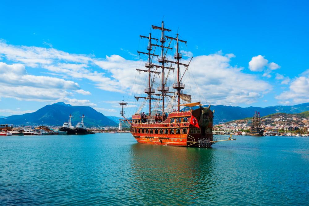 Pirate Boat Experience in Antalya in Turkey