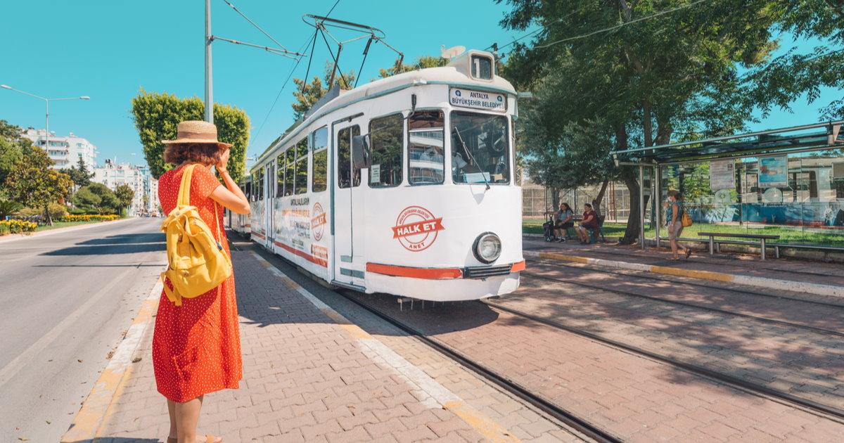 Public Transport in Antalya in Turkey