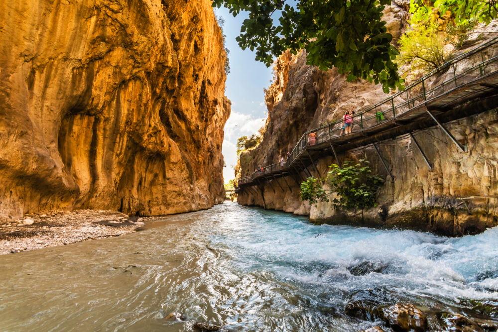Saklikent Canyon in Turkey (Editorial)