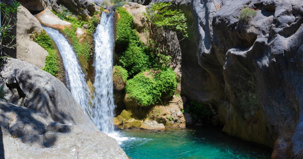 Sapadere canyon in Antalya in Turkey