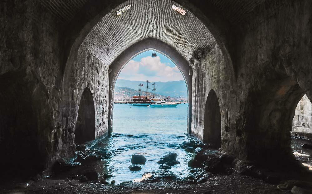 Selcuk Shipyard in Alanya in Turkey
