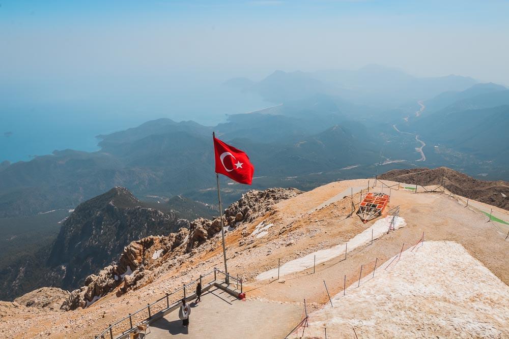 Tahtali Teleferik in Kemer in Turkey