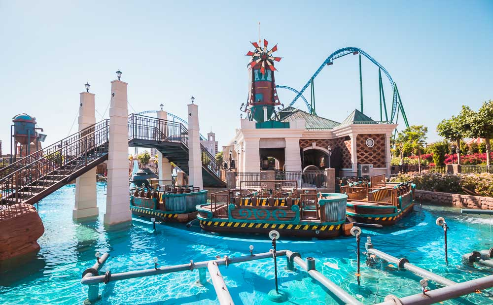 The Land of Legends Theme Adventure Park Family Coaster in Turkey