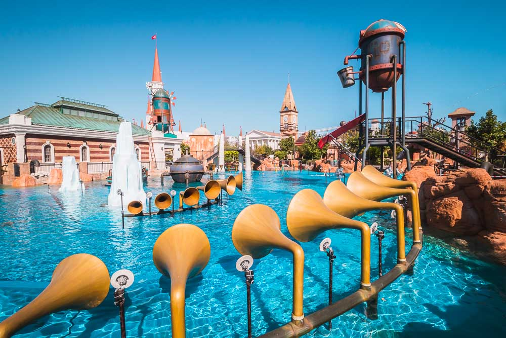 The Land of Legends Theme Adventure Park in Turkey