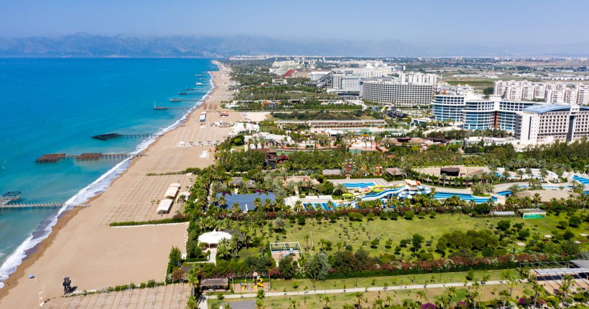 Tourism in Antalya in Turkey