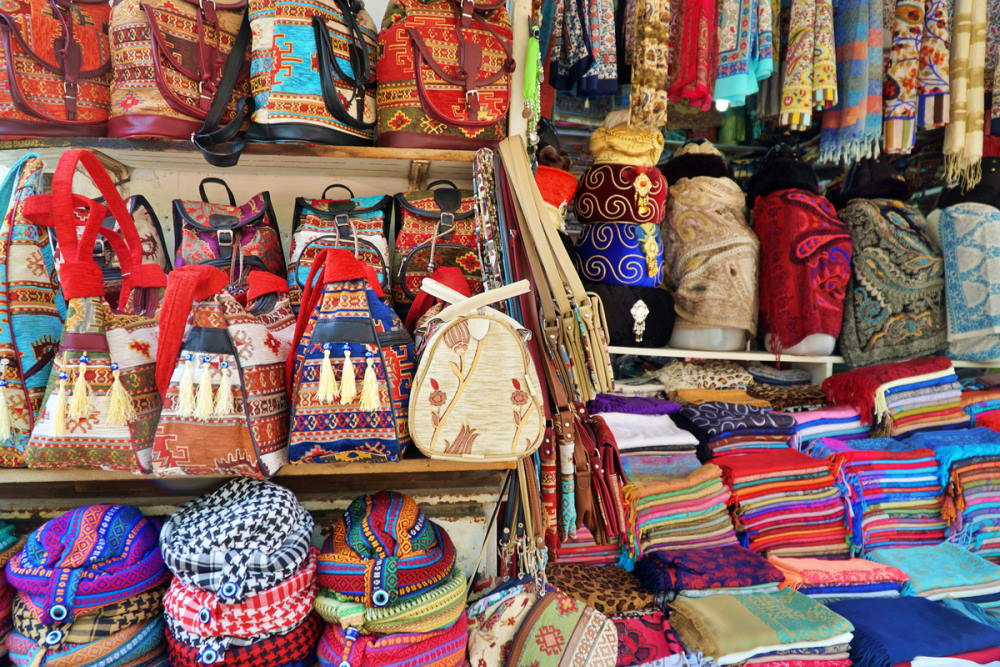 Traditional souvenirs in Antalya in Turkey