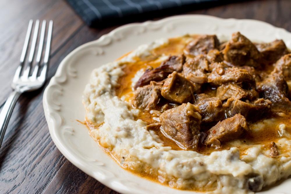 Turkish Food Hunkar Begendi