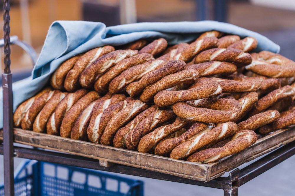 Turkish bagel simit