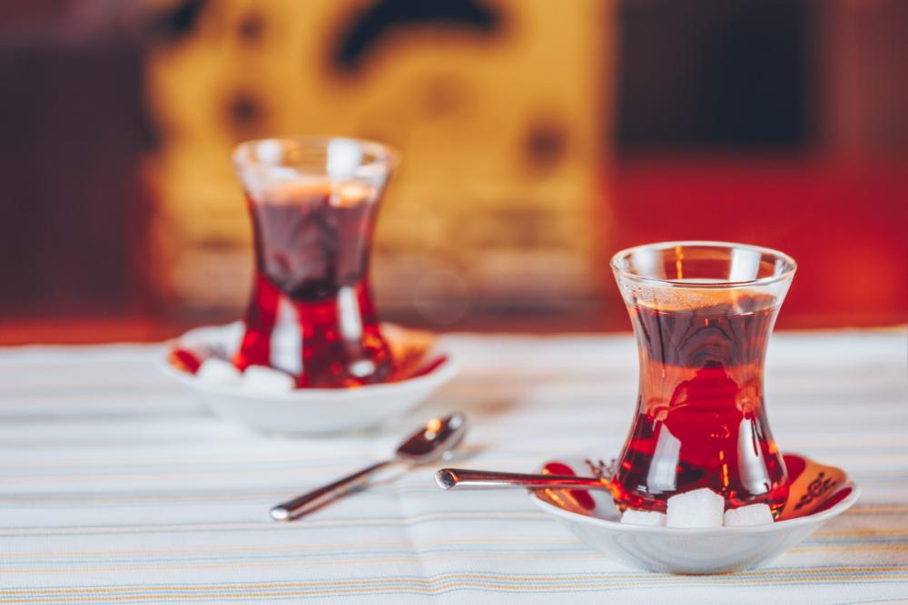 Turkish tea in Turkey