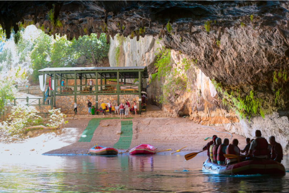 Visit a Cave in Antalya in Turkey