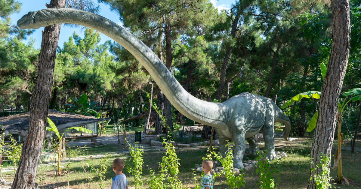 Visit the Dinopark in Antalya in Turkey (Editorial)