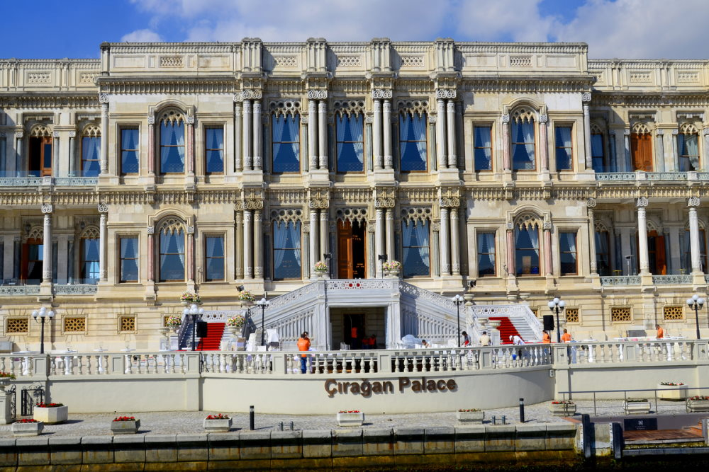 Wedding in a Palace in Turkey (Editorial)
