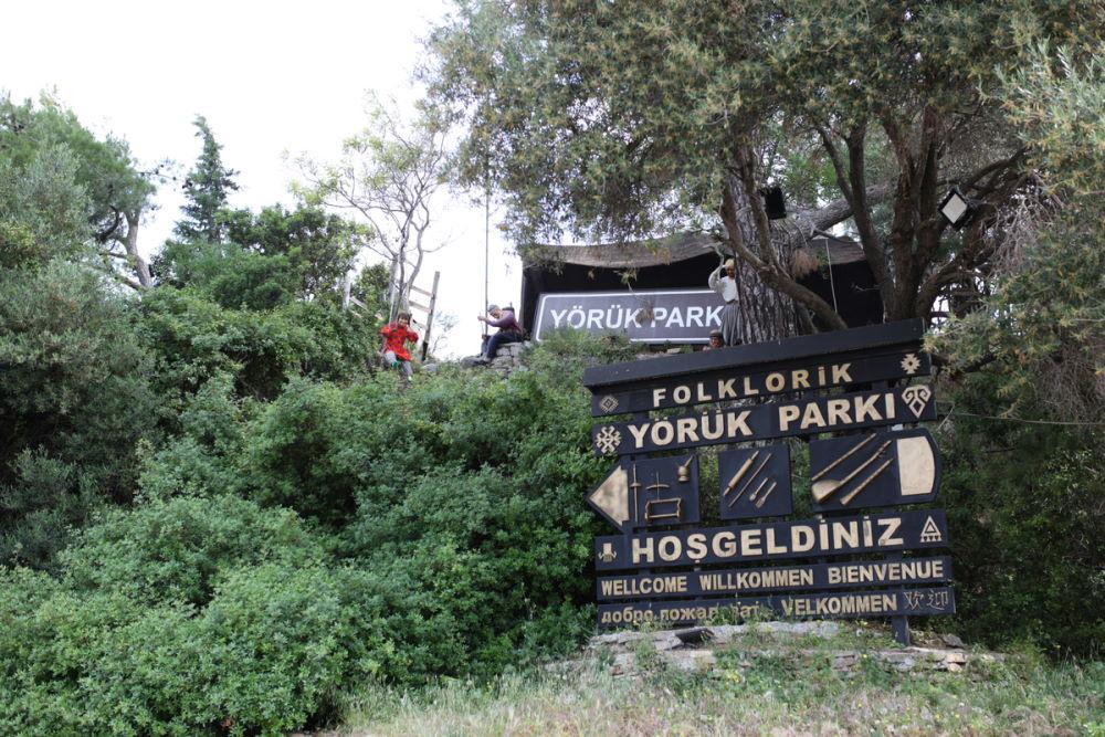 Yoruk Park in Antalya in Turkey