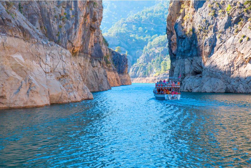 Oymapınar Dam in Antalya in Turkey