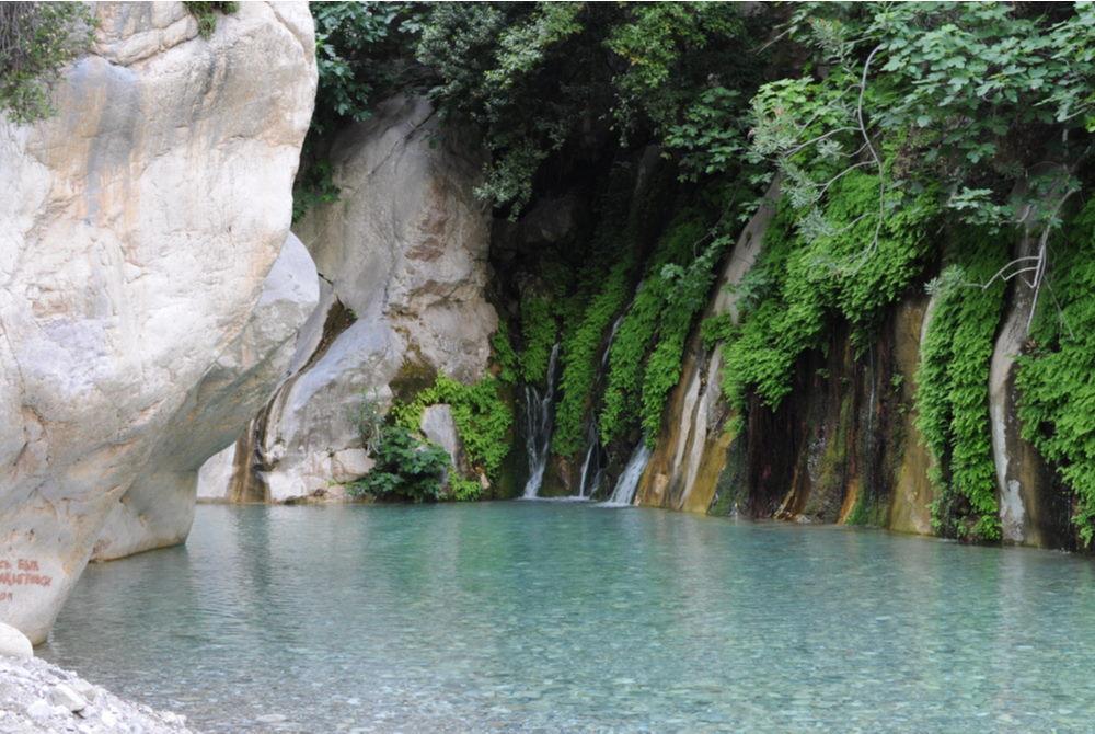 goynuk canyon in kemer in antalya in Turkey