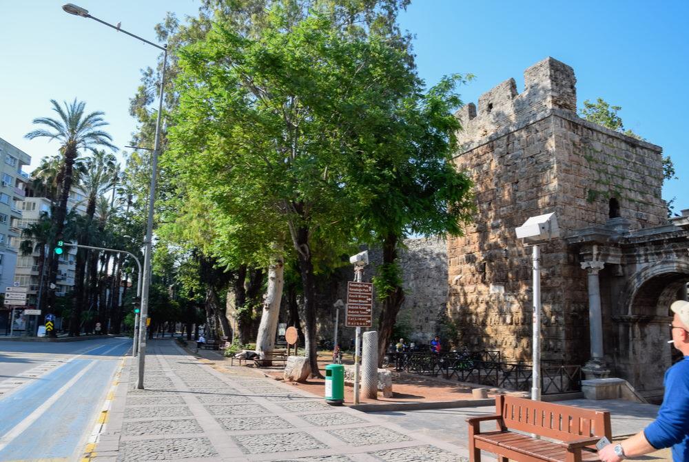 Hadrians Arch in Antalya in Turkey
