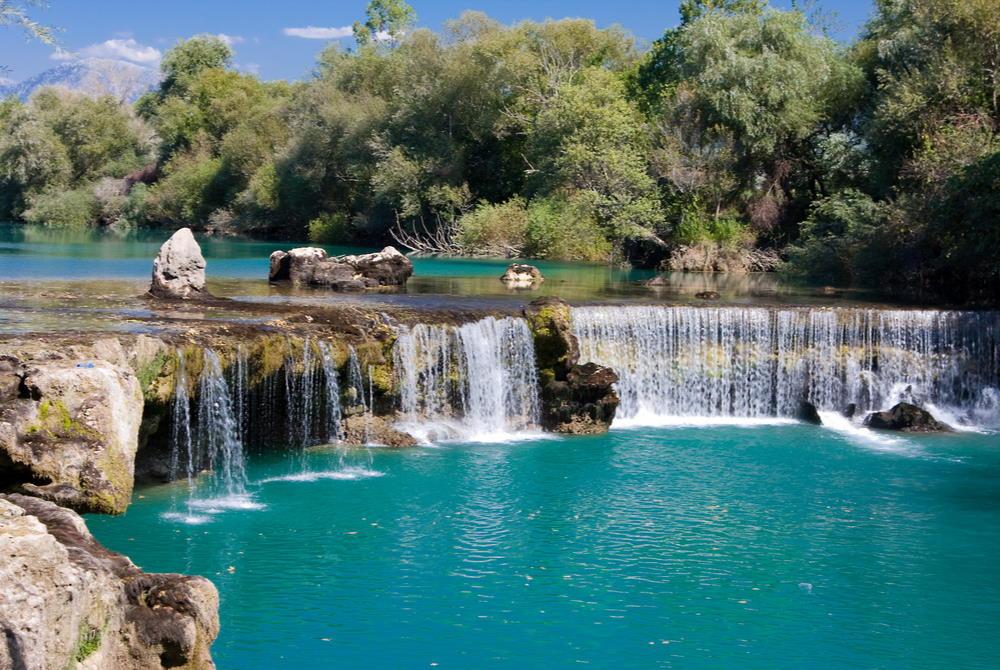 manavgat river in Antalya in Turkey