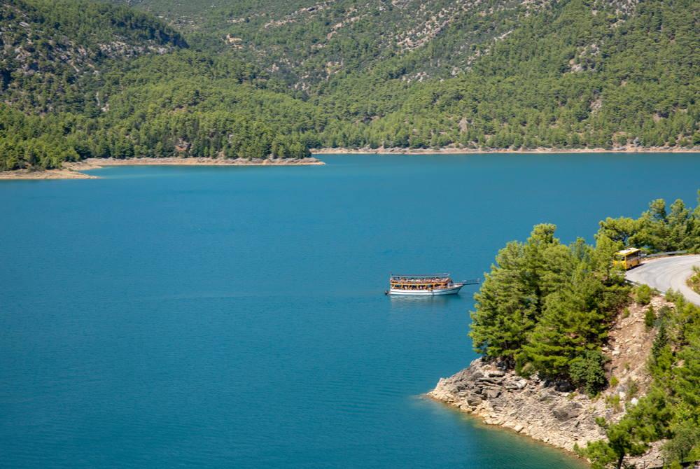 oymapınar river in Antalya in Turkey