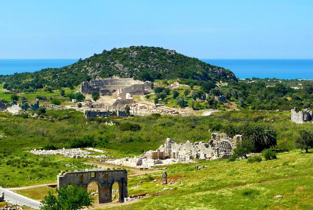 Patara Ancient Site in Antalya in Turkey
